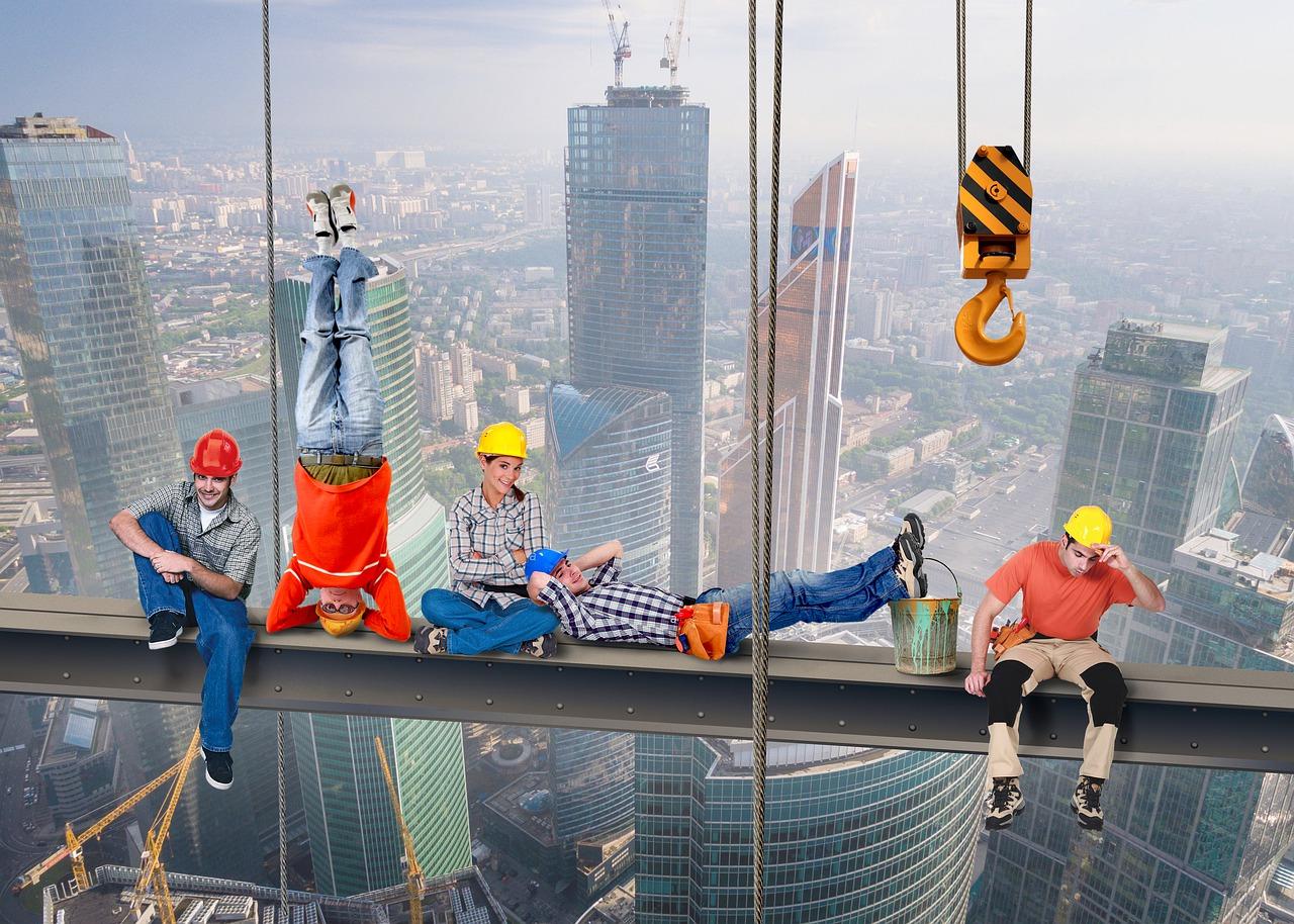 Wysokie standardy dla pracy na wysokościach